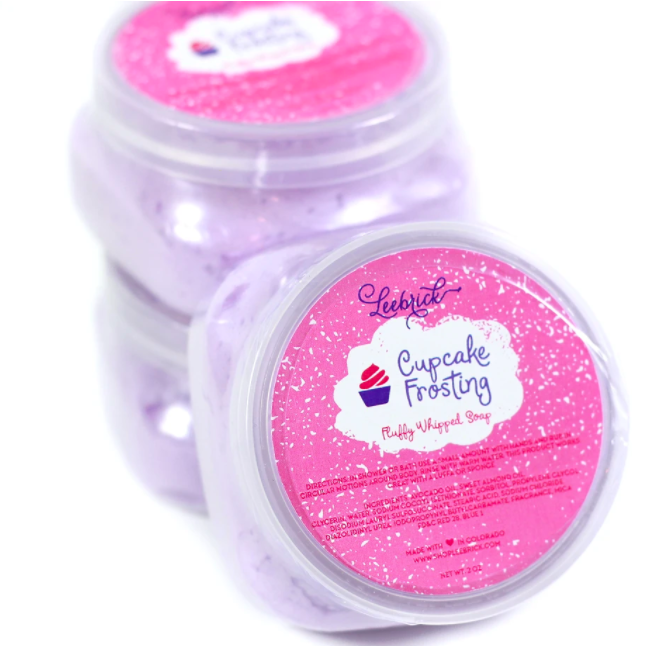 Shop ReAwaken | Cupcake Frosting Fluffy Whipped Soap | LeeBrick
