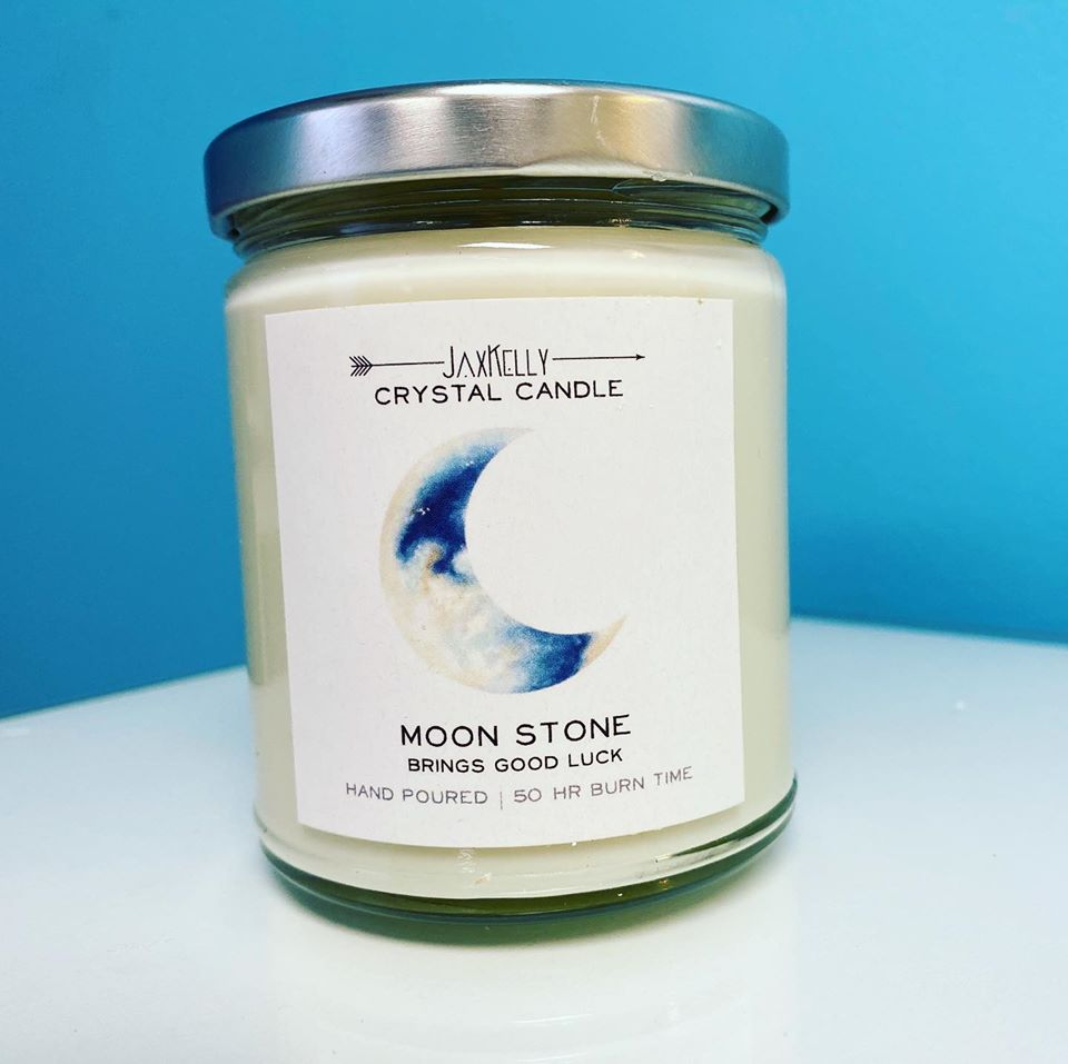 Jax Kelly Moonstone Candle | Shop ReAwaken